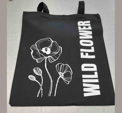 Текстилна торбичка с щампа