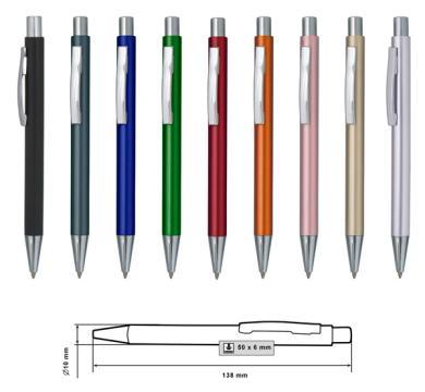 Пластмасова химикалка MP-9184C