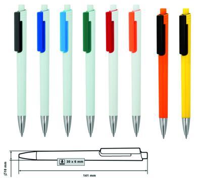 Пластмасова химикалка MP-9166
